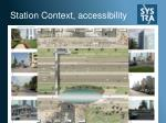station context accessibility
