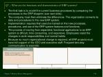 q7 what are the functions and characteristics of erp systems17