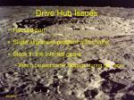 drive hub issues