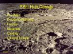 psu hub design