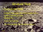structural tests