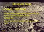 structural tests36