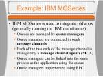 example ibm mqseries