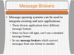 message brokers