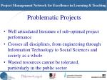 problematic projects