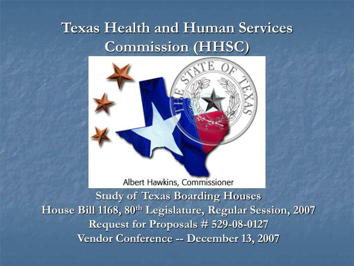 texas health and human services commission hhsc n.