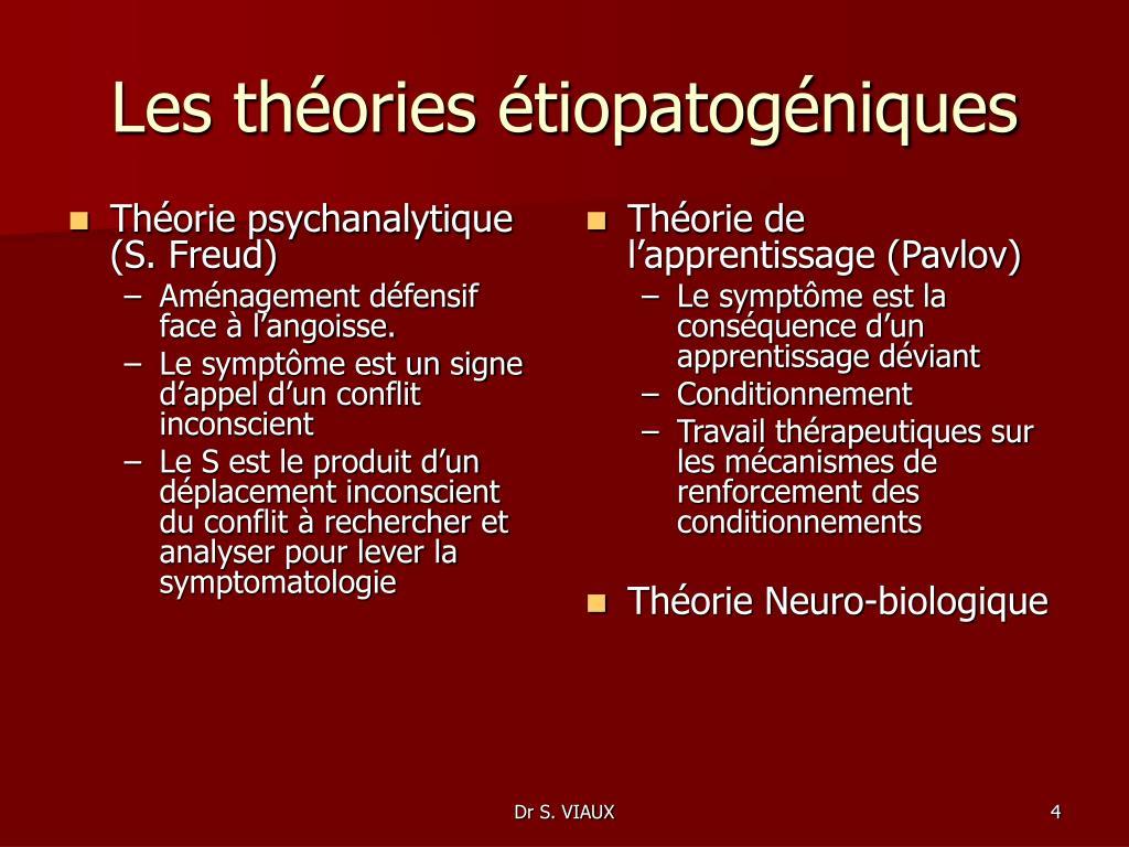 Théorie psychanalytique (S. Freud)