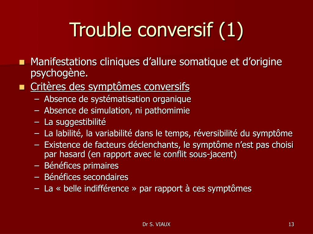 Trouble conversif (1)