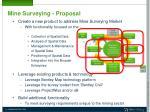 mine surveying proposal