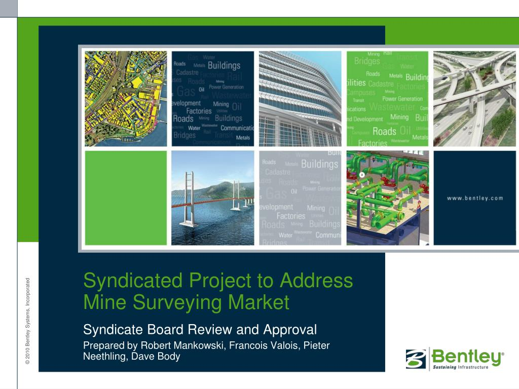 syndicated project to address mine surveying market l.