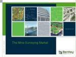 the mine surveying market