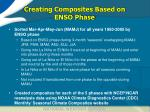 creating composites based on enso phase