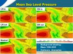 mean sea level pressure