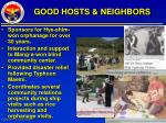 good hosts neighbors