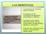 las herencias