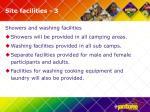 site facilities 3