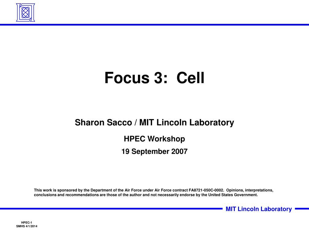 focus 3 cell l.