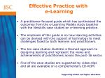 effective practice with e learning5