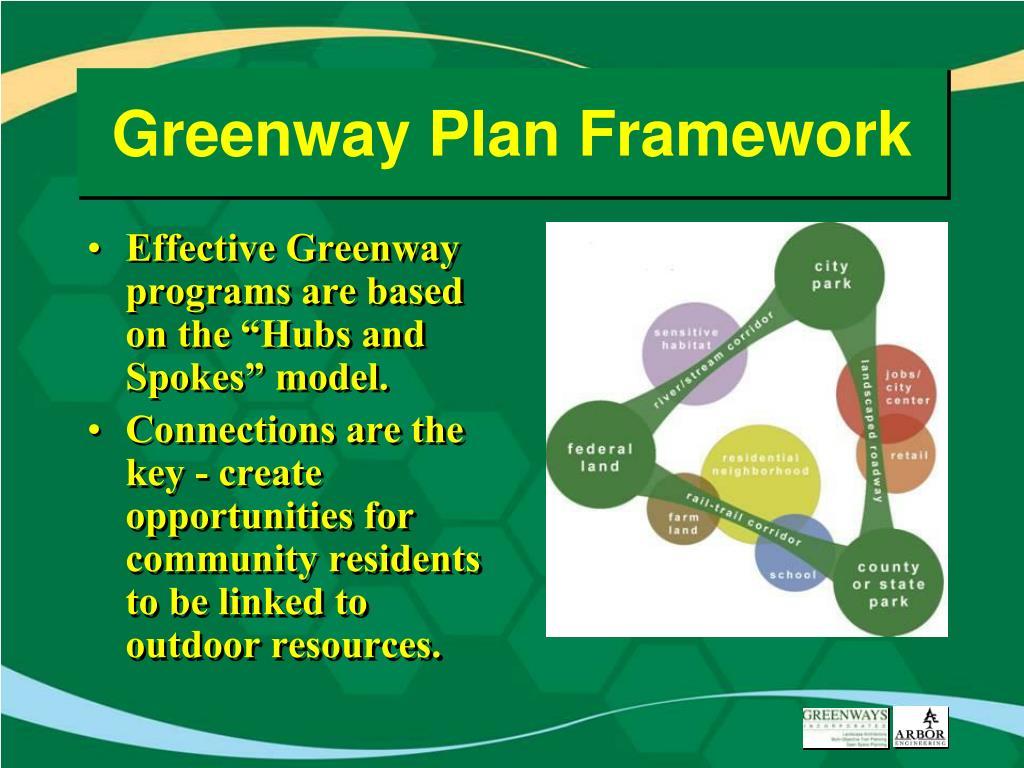 Greenway Plan Framework