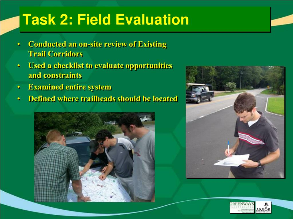 Task 2: Field Evaluation