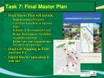 task 7 final master plan