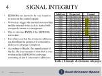 4 signal integrity