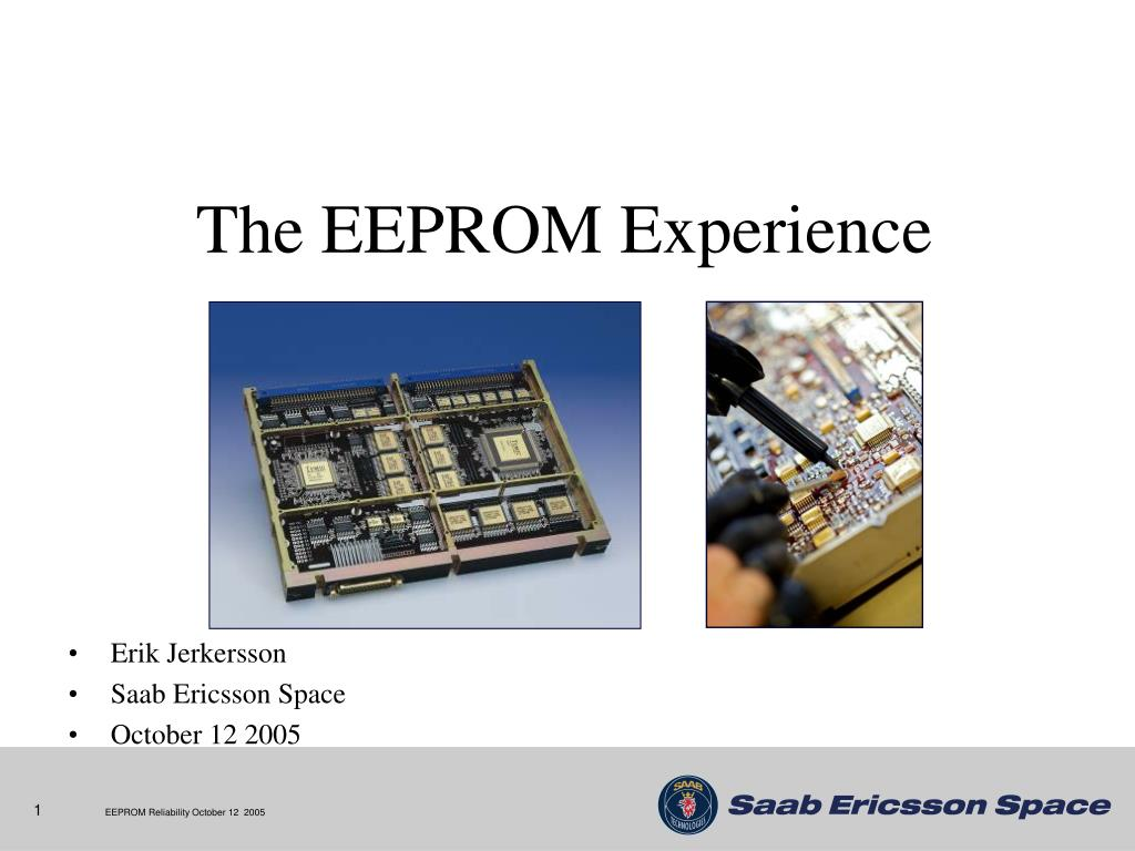 the eeprom experience l.