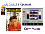 wit capital optimark