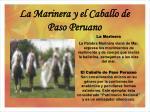 la marinera y el caballo de paso peruano