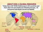about iccd a global resource