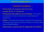 infection p aeruginosa