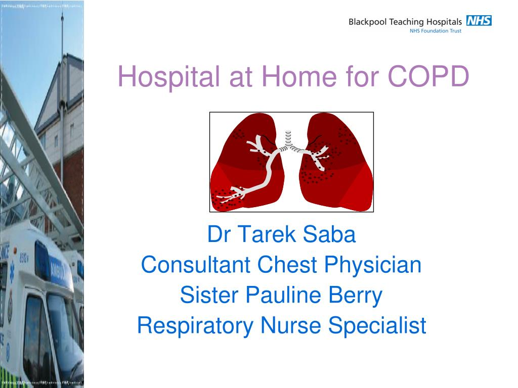 hospital at home for copd l.