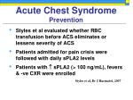 acute chest syndrome prevention