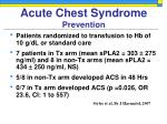 acute chest syndrome prevention41