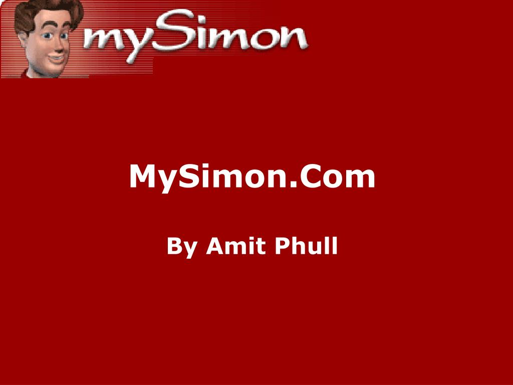 mysimon com by amit phull