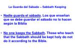 la guarda del s bado sabbath keeping5