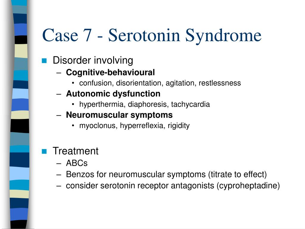 Case 7 - Serotonin Syndrome