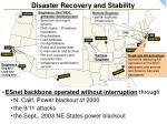 disaster recovery and stability21