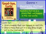 genre realistic fiction