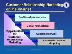 customer relationship marketing on the internet