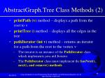 abstractgraph tree class methods 2