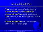 abstractgraph tree