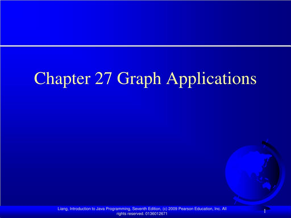 chapter 27 graph applications l.