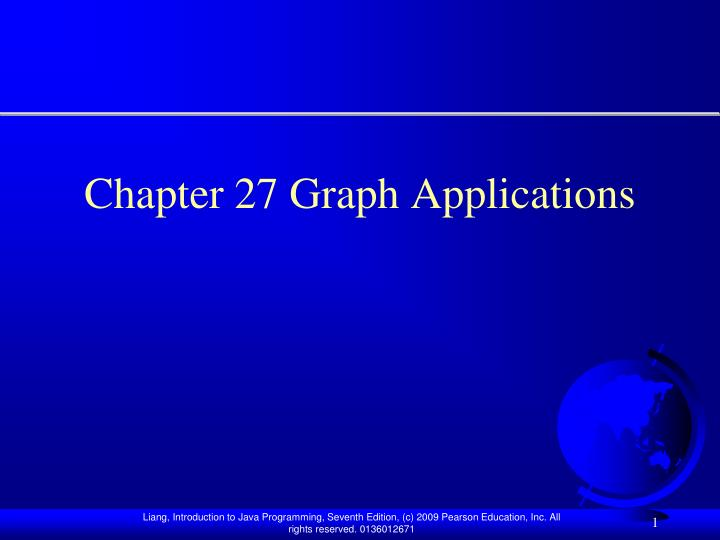 chapter 27 graph applications n.