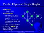 parallel edges and simple graphs
