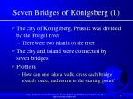 seven bridges of k nigsberg 1