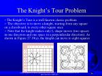the knight s tour problem