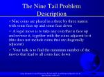 the nine tail problem description