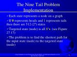 the nine tail problem implementation