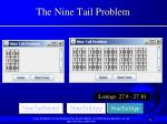 the nine tail problem